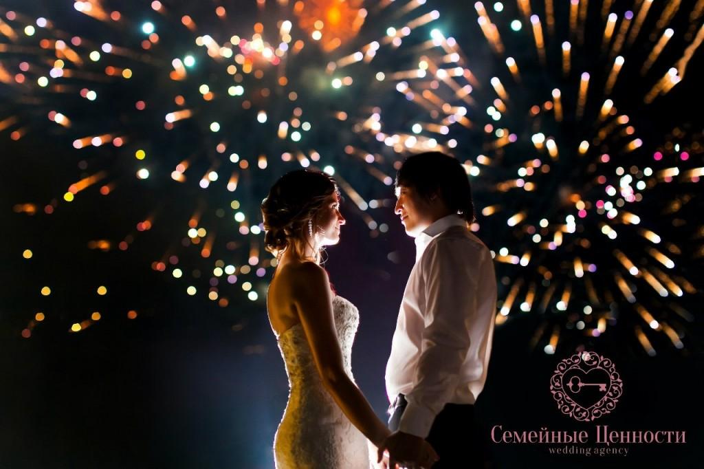 Красивая свадьба Виктора и Екатерины