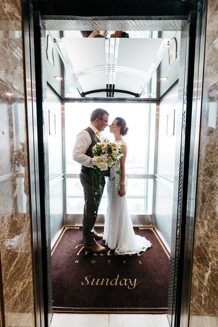 Свадьба в отеле Милан