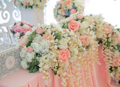 Путешествие длиною в жизнь - свадьба Даши и Алексея в оттенках rose quartz & serenity