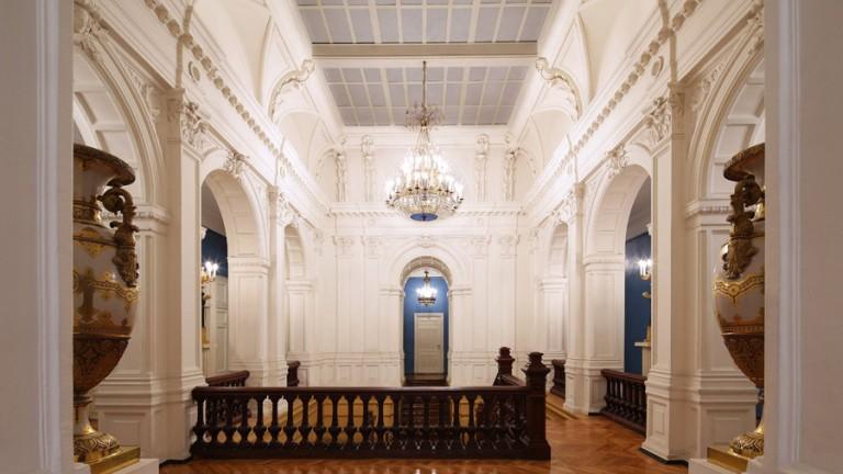 Свадьба в историческом особняке - особняк Эриксон (А. Леман), Белый зал