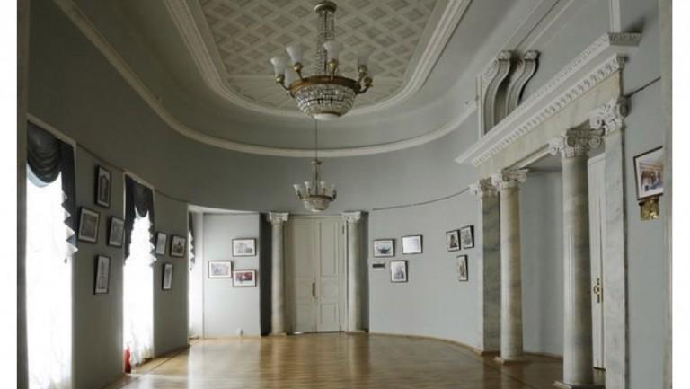 Свадьба в историческом особняке - усадьба Барышникова, Овальный зал